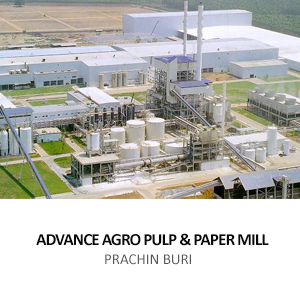 ADVANCE AGRO &#8211; PULP AND PAPER MILL  <BR>304 INDUSTRIAL PARK, SRIMAHAPHOT, PRACHINBURI