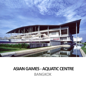 MINISTRY OF FINANCE &#8211; ASIAN GAMES AQUATIC CENTRE <BR>THAMMASAT UNIVERSITY, PATHUM THANI