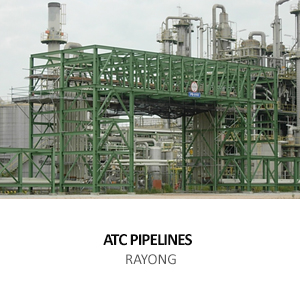 ATC &#8211; OUTSIDE INTERCONNECTING PIPELINES PROJECT <BR>FOR REFORMER AND AROMATICS COMPLEX II  ,RAYONG