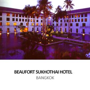 COMET &#8211; BEAUFORT SUKHOTHAI HOTEL <BR>BANGKOK