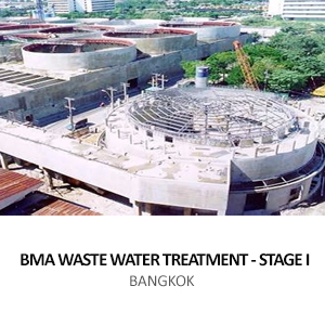 BMA &#8211; WASTEWATER TREATMENT PLANT STAGE I <br>MITMAITREE ROAD, BANGKOK