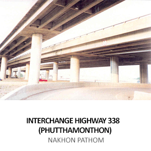 INTERCHANGE HIGHWAY NO. 338 (PHUTTHAMONTHON) <BR>NAKHON PATHOM