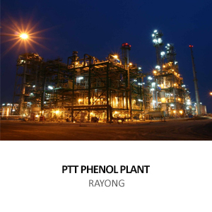 PTT PHENOL PLANT &#8211; UTILITY BUILDINGS<BR>EASTERN INDUSTRIAL ESTATE, MAP TA PHUT, RAYONG