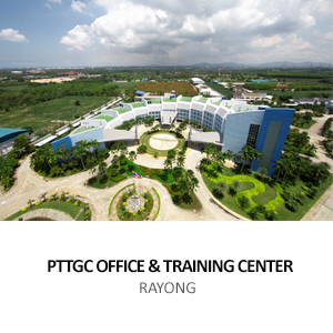 PTT GLOBAL CHEMICAL &#8211; OFFICE &#038; TRAINING CENTRE <BR>RAYONG