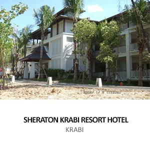 MBK &#8211; SHERATON KRABI RESORT HOTEL<BR>KRABI