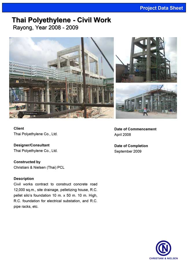 11460-Thai-Polyethylene-Civil-Work