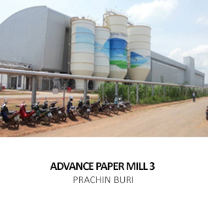 ADVANCE PAPER MILL FACTORY 3 <BR>SRI MAHA PHOT, PRACHIN BURI