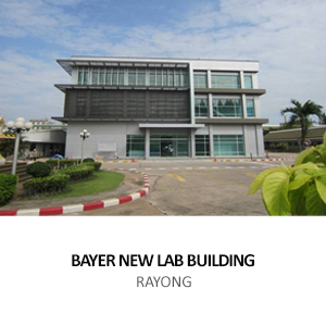 BAYER THAI &#8211; LABORATORY BUILDING <BR>MAP TA PHUT, RAYONG