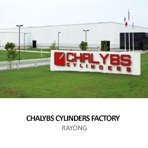 CHALYBS CYLINDERS &#8211; FACTORY <BR>EASTERN SEABOARD INDUSTRIAL ESTATE, RAYONG