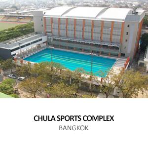 CHULALONGKORN UNIVERSITY &#8211; SPORT COMPLEX <BR>BANGKOK
