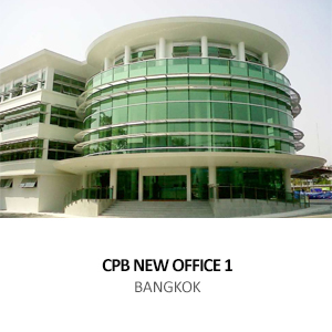 NEW OFFICE BUILDING FOR THE CROWN PROPERTY BUREAU <br> BANGKOK, THAILAND