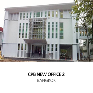 CROWN PROPERTY BUREAU &#8211; NEW OFFICE AND AUDITORIUM <BR>BANGKOK