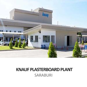 KNAUF GYPSUM &#8211; PLASTERBOARD PLANT <br>HEMARAJ INDUSTRIAL ESTATE, NONG KHAE, SARABURI