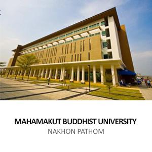 MAHAMAKUT BUDDHIST UNIVERSITY <br>NAKHON PATHOM