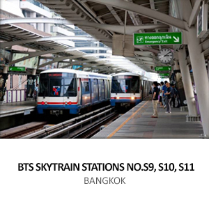BTS SKYTRAIN STATIONS NO.S9, S10, S11 (TAKSIN – PHETKASEM)<br>GREEN LINE EXTENSION THONBURI, BANGKOK