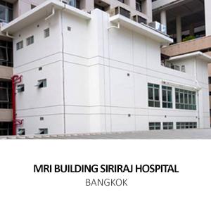 MRI BUILDING SIRIRAJ HOSPITAL <br>BANGKOK