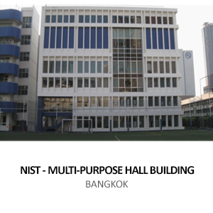 NIST – MULTI-PURPOSE HALL  <br>SUKHUMVIT 15, BANGKOK