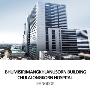BHUMISIRIMANGKHLANUSORN BUILDING FOR CHULALONGKORN HOSPITAL <br> BANGKOK