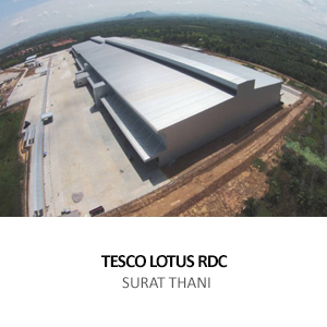 TESCO LOTUS &#8211; REGIONAL DISTRIBUTION CENTRE (RDC) <BR>PHUNPIN, SURAT THANI