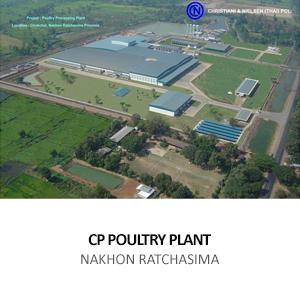 CP &#8211; POULTRY PROCESSING PLANT <br> CHOKE CHAI, NAKHON RATCHASIMA