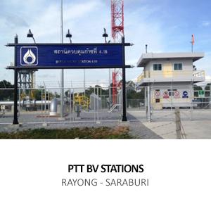 PTT – BLOCK VALVE STATIONS  <br>RAYONG, CHONBURI, CHACHOENGSAO, PRACHINBURI, NAKHON NAYOK AND SARABURI