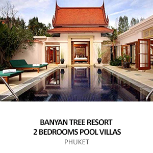 LAGUNA BANYAN TREE RESORT, 2 BEDROOMS POOL VILLAS <BR>PHUKET