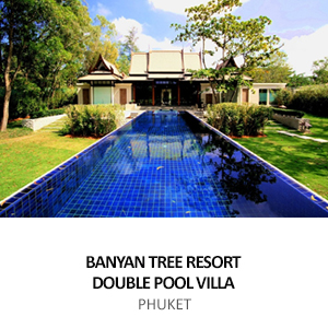 LAGUNA BANYAN TREE RESORT, DOUBLE POOL VILLAS <BR>PHUKET
