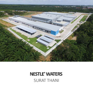 NEW WATER FACTORY FOR NESTLE' <br> PHUNPHIN, SURAT THANI