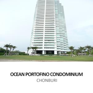 OCEAN PORTOFINO CONDOMINIUM <BR>JOMTIEN BEACH, PATTAYA, CHONBURI