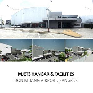 MJETS HANGAR & FACILITIES <br>DON MUANG AIRPORT, BANGKOK