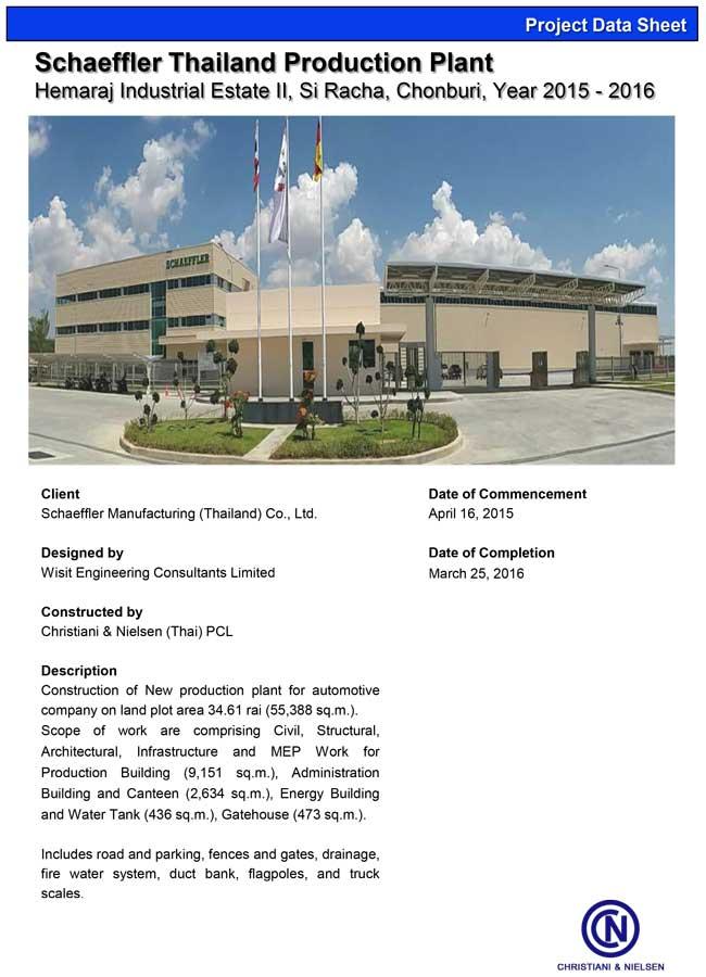 Schaeffler-Thailand-Production-Plant