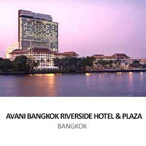 AVANI BANGKOK RIVERSIDE HOTEL &#038; PLAZA<BR> BANGKOK