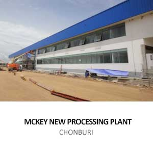 MCKEY NEW PROCESSING PLANT <BR>CHONBURI