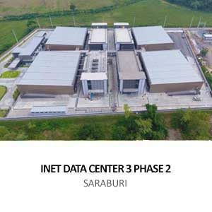 INET DATA CENTER 3 PHASE 2 <BR>SARABURI