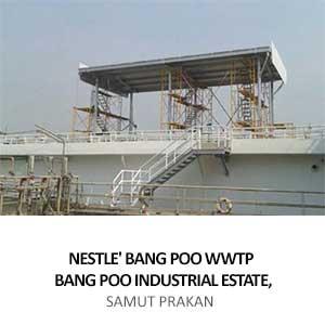 NESTLE BANGPOO WWTP <br>SAMUT PRAKAN