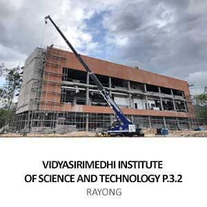 VIDYASIRIMEDHI INSTITUTE OF SCIENCE AND TECHNOLOGY P.3.2 <BR>RAYONG