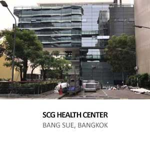 SCG HEALTH CENTER <br>BANG SUE, BANGKOK