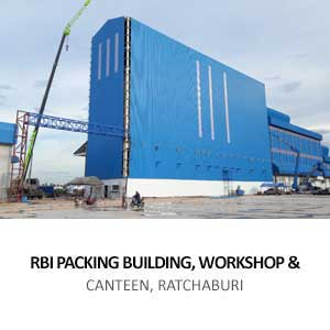 RBI PACKING BUILDING, WORKSHOP &#038; <BR>CANTEEN, RATCHABURI