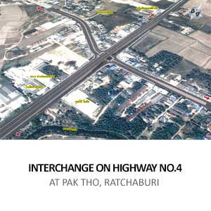 INTERCHANGE ON HIGHWAY NO.4 <BR>AT PAK THO, RATCHABURI