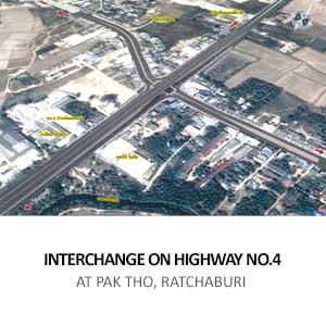 INTERCHANGE ON HIGHWAY NO.4 <BR>AT PAK THO, RATCHABURI