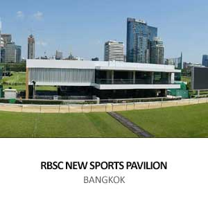 RBSC NEW SPORTS PAVILION <br>BANGKOK