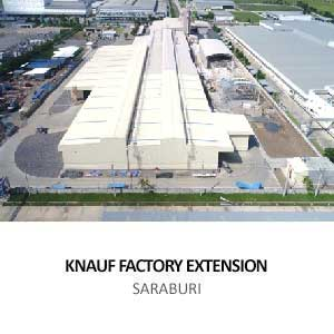 KNAUF FACTORY EXTENSION <br>SARABURI