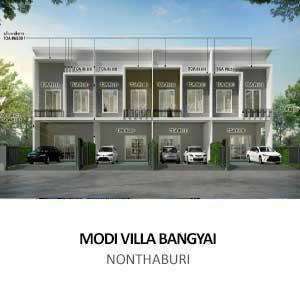 MODI VILLA BANGYAI <br>NONTHABURI