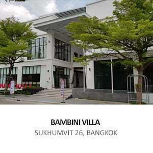 BAMBINI VILLA <br>SUKHUMVIT 26, BANGKOK