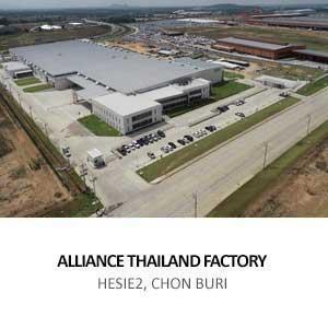 ALLIANCE THAILAND FACTORY<BR>HESIE2, CHON BURI