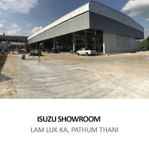 SHOWROOM AND SERVICE CENTER FOR KOW YOO HAH ISUZU <br> LAM LUK KA, PATHUM THANI