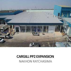 EXPANSION OF PROCESSING PLANT FOR CARGILL MEATS <BR>NAKHON RATCHASIMA