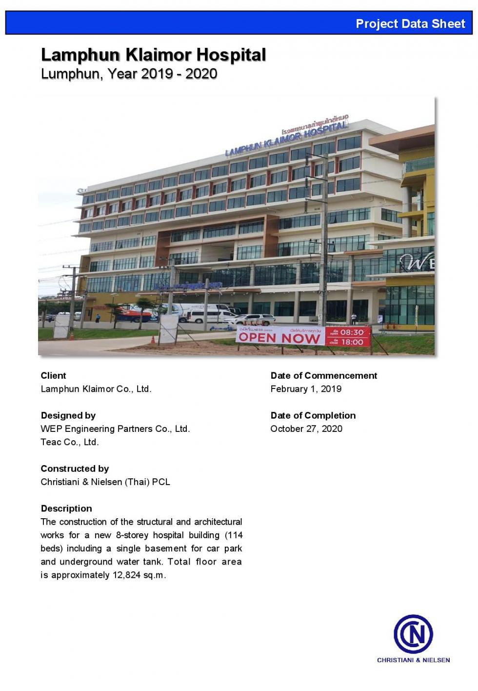 1 – 2020 – 11778-1 – Lamphun Klaimor Hospital-001