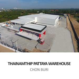 THAINAMTHIP PATTAYA WAREHOUSE <BR>BANG LAMUNG, CHON BURI