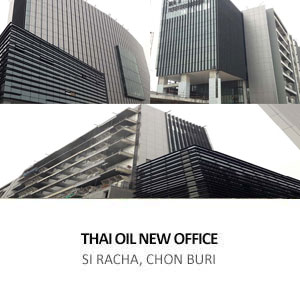 NEW OFFICE BUIDLING FOR THAI OIL <BR> SI RACHA BUILDING (TSB) PROJECT